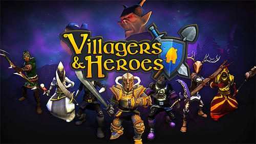 Villagers and heroes 3D MMO captura de pantalla 1