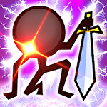 Stickman hero tap tap Symbol