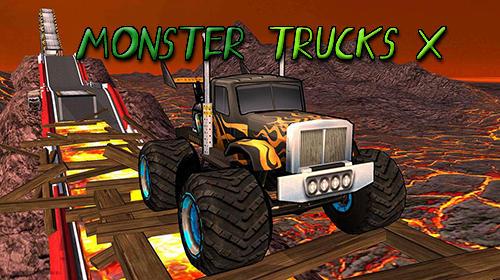 Monster trucks X: Mega bus race скриншот 1