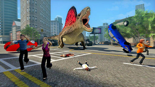 Dino rampage 3D en français