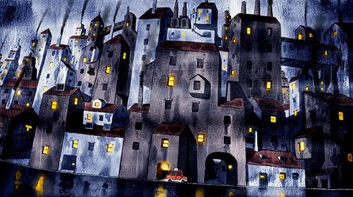 Abenteuer-Spiele Rain town für das Smartphone