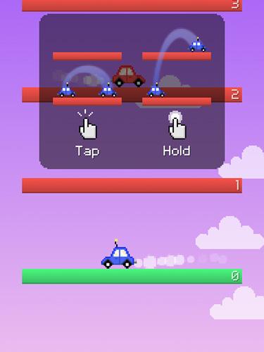 Arcade-Spiele: Lade Springendes Auto auf dein Handy herunter