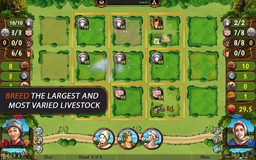 Brettspiele: Lade Agricola: Alle Kreaturen, Groß und Klein auf dein Handy herunter