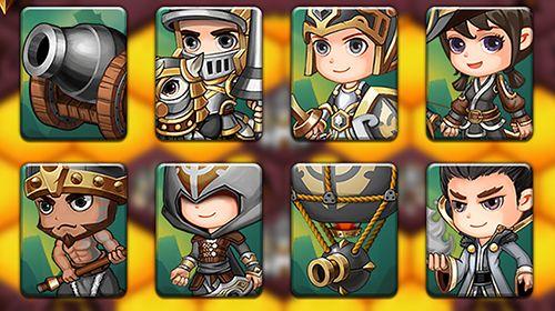 RPG-Spiele: Lade Legionenkrieg: Taktische Strategie auf dein Handy herunter