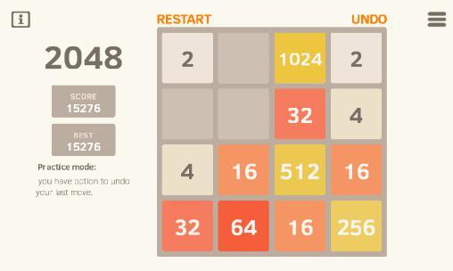 Multiplayer games 2048 reborn for smartphone