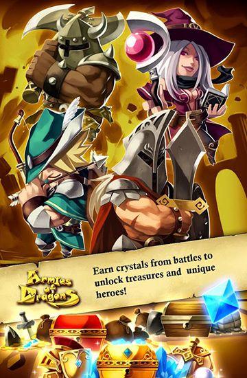Offline Spiele Armies of dragons auf Deutsch