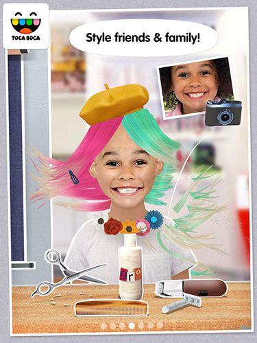 Тока: Салон-парикмахерская для iPhone бесплатно