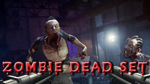 Zombie dead set ícone