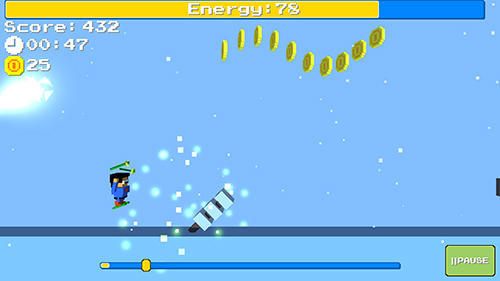 Arcade Screamy ski for smartphone