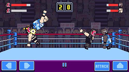 Rowdy wrestling screenshot 1