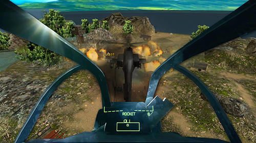 Heli world war gunship strike screenshot 3