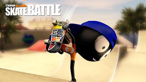 Stickman skate battle Screenshot