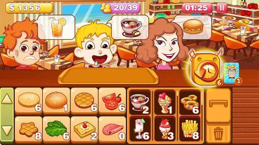 Simulator-Spiele Burger tycoon 2 für das Smartphone