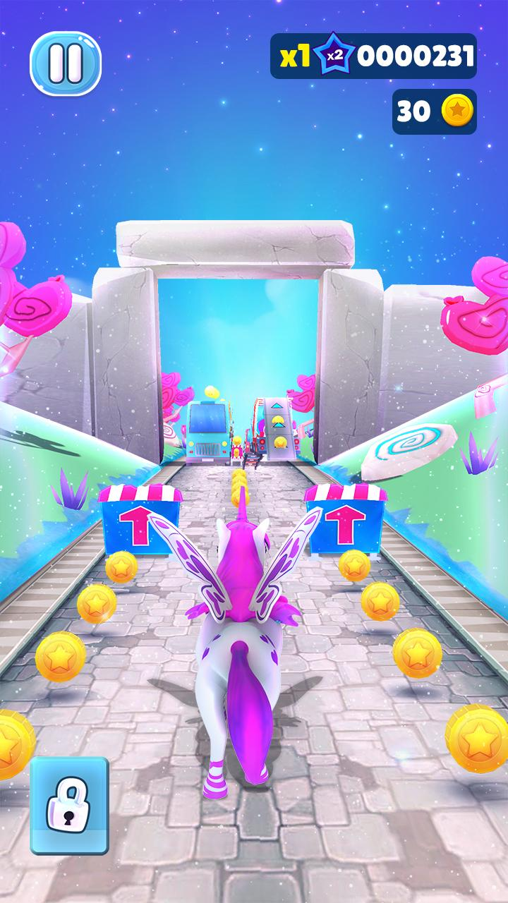 Magical Pony Run - Unicorn Runner pour Android
