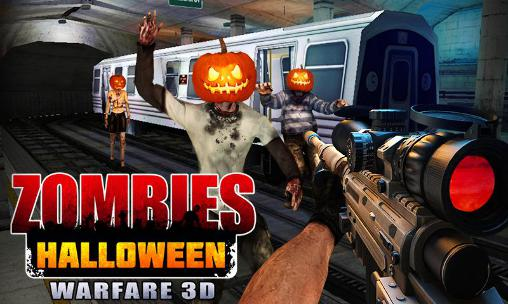 Иконка Zombies Halloween warfare 3D