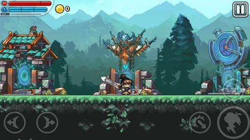 Arcade-Spiele The east: New world für das Smartphone