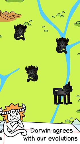 Zeitkiller Monkey evolution: Clicker auf Deutsch