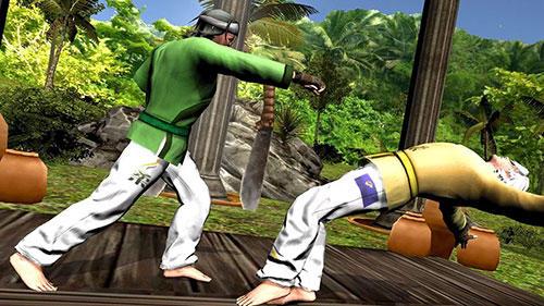 Karate fighting tiger 3D 2 скріншот 1