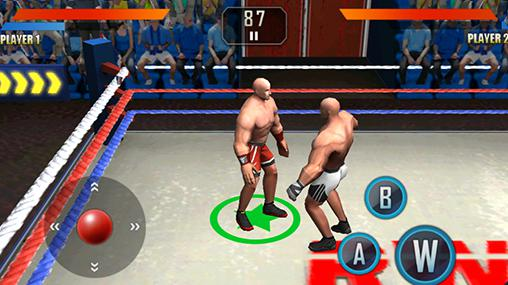 WWE wrestling 3D in English