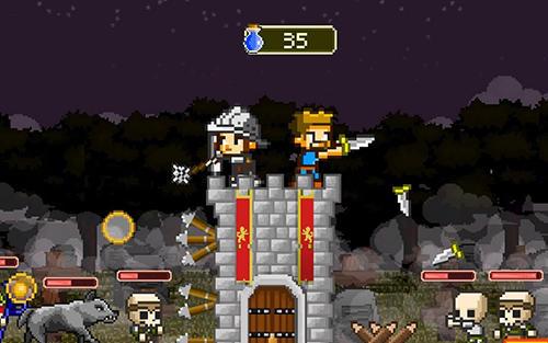 Strategiespiele Retro defenders: Towers' war für das Smartphone