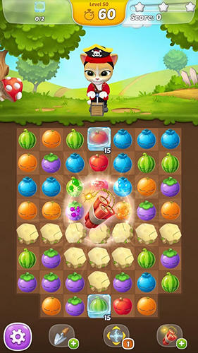 Arcade Emma the cat: Fruit mania für das Smartphone