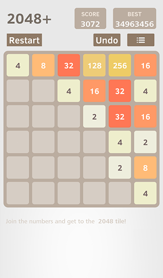 2048 plus by Sun rain für Android