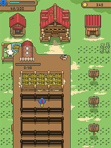Tiny pixel farm for Android