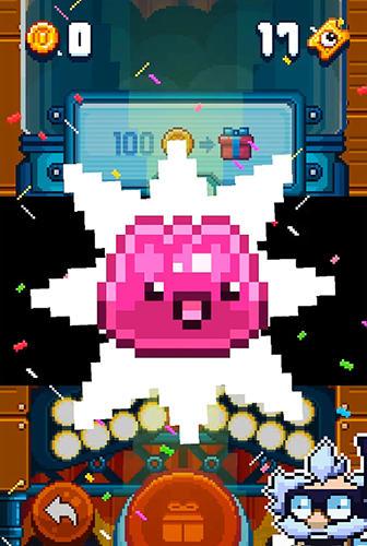 Arcade-Spiele Blobout: Endless platformer für das Smartphone