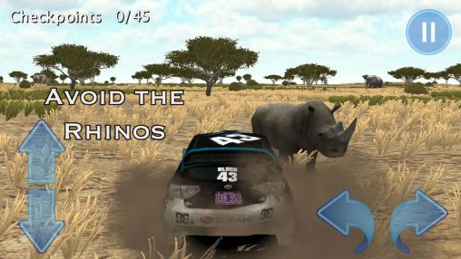Rallye-Spiele Rally race 3D: Africa 4x4 auf Deutsch