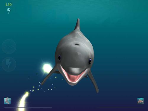 iPhone用ゲーム シャーク・イーターズ:ライス・オブ・ザ・ドルフィンズ のスクリーンショット