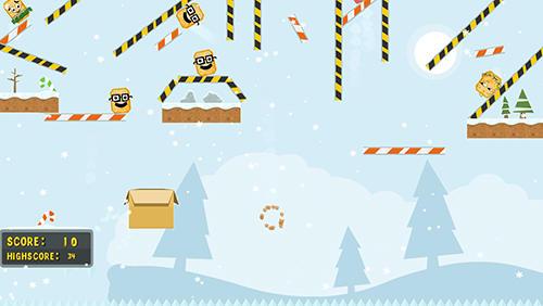 Arcade Catch a cracker: Christmas für das Smartphone