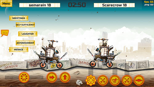 War cars for Android