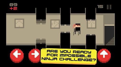 Arcade Ninja madness für das Smartphone