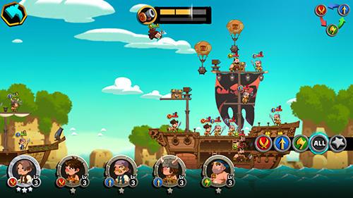 Стратегические RPG Tonton pirate на русском языке