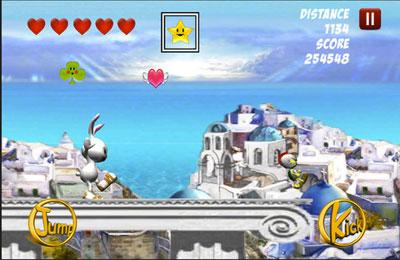Screenshot Hasenrennen auf dem iPhone