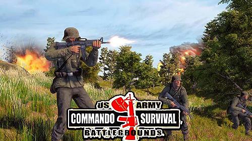 WW2 US army commando survival battlegrounds capture d'écran 1