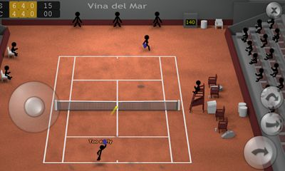 Stickman Tennis Screenshot