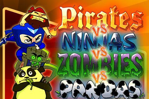 logo Piraten gegen Ninjas gegen Zombies gegen Pandas