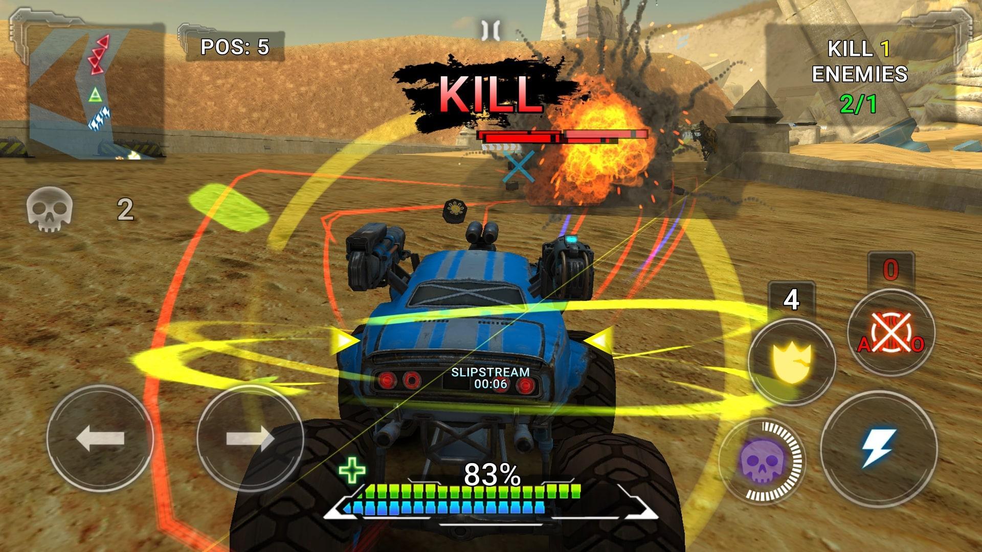 RACE - Rocket Arena Car Extreme captura de tela 1
