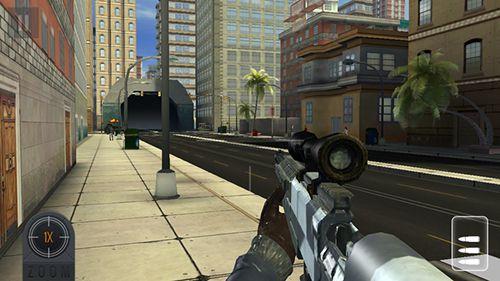 Simulator-Spiele: Lade Sniper 3D Assassin: Schieße um zu töten auf dein Handy herunter