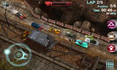 Car games Blur overdrive in English