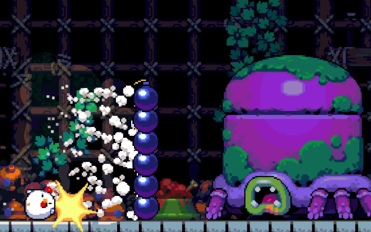 Bomb Chicken screenshot 1