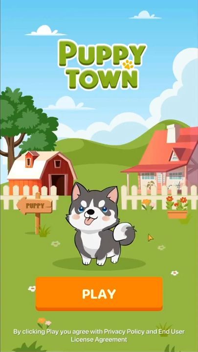 Puppy Town captura de tela 1
