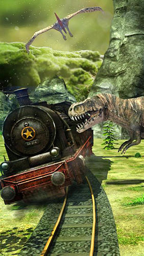 Züge Train simulator: Dinosaur park auf Deutsch