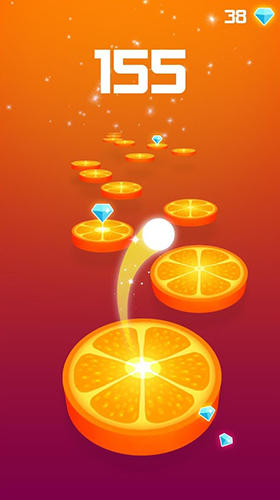Splashy tiles: Bouncing to the fruit tiles für Android