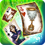 Snow White solitaire. Shadow kingdom solitaire: Adventure of princess ícone