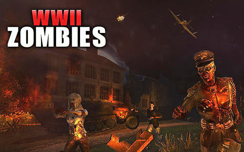 WW2 Zombies survival : World war horror story скріншот 1
