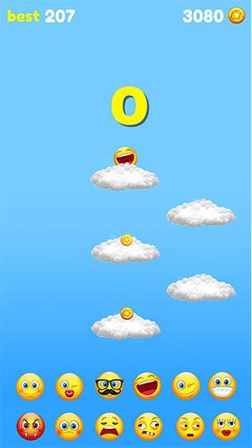 Emoji sliding: Jumping down für Android