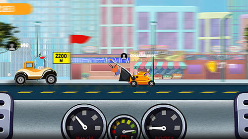 Oggy and the cockroaches go: World of racing pour Android