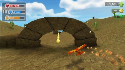 Actionspiele Wings on fire für das Smartphone